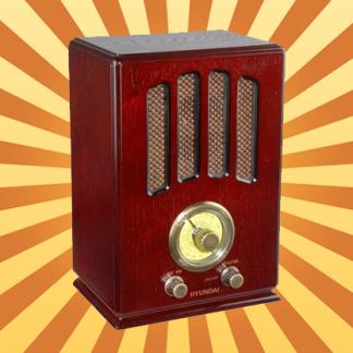 Retro rádia a gramofony